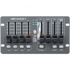 Voorkant LEDJ VersiLED 4 - 4 kanalen LED DMX Controller