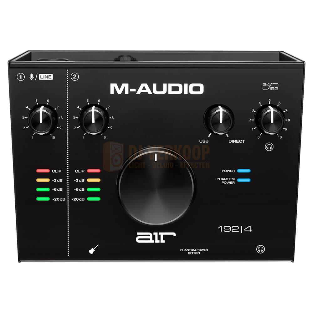 bovenkant Air 192|4 - 2-in / 2-uit 24/192 USB-audio-interface