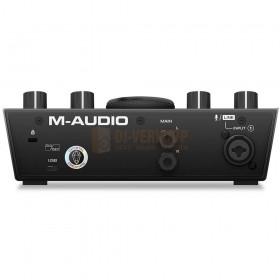 Achterkant M Audio Air 192|4 - Vocal Studio Pro