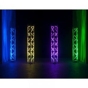 verlichting in truss 3 American DJ 5PX HEX - 5x12 Watt 6-IN-1 HEX LED Par met DMX