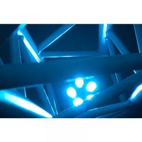 verlichting in truss 2 American DJ 5PX HEX - 5x12 Watt 6-IN-1 HEX LED Par met DMX