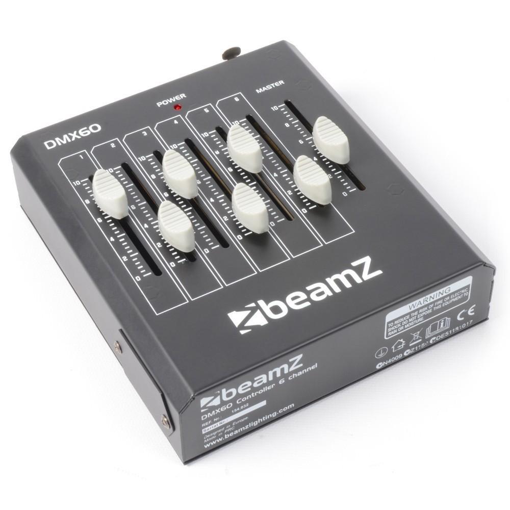 BeamZ DMX60 Controller 6-Kanaals