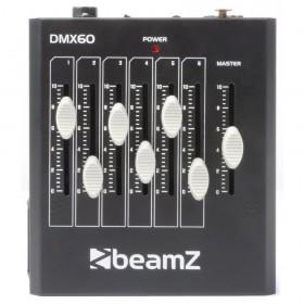 BeamZ DMX60 Controller 6-Kanaals bovenkant