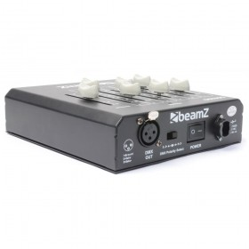 BeamZ DMX60 Controller 6-Kanaals achterkant aansluitingen