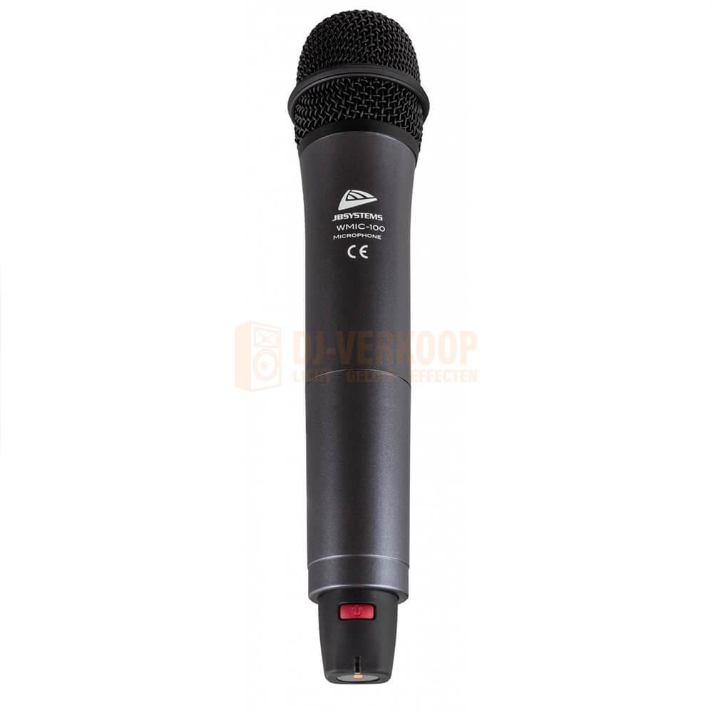Voorkant 1 JB Systems WMIC-100 - Optionele draadloze microfoon