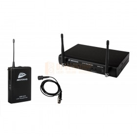 Complete set JB Systems WBS-200 - UHF draadloos microfoonsysteem inclusief WBP-200 belt-pack en lavalier microfoon