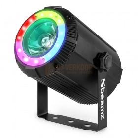 Voorkant BeamZ PS40 Beam Spot 4-in-1 40W met LED-ring