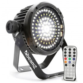 Strobo incl afstandsbediening BeamZ BS98 Strobo 98 LED's