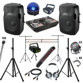 Complete Disco Set 10.0 voor de beginnende Dj / drive in show