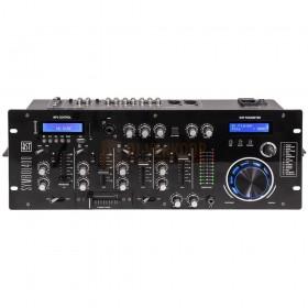 Voorkant BST Symbol400 - 4-kanaals DJ mengpaneel met 9 ingangen, Bluetooth & effecten & Built-in effects