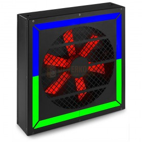 BeamZ LED Twister 400 ventilator RGB DMX