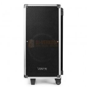 "Voorkant Vonxy ST095 Portable Sound Systeem 8 ""CD / UHF / MP3 met Bluetooth"
