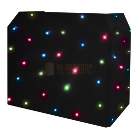 Sterrendoek 2 Equinox DJ Booth Quad LED Starcloth-systeem