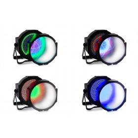 Alle lichten - BeamZ BS271F - Flatpar 271 LED SMD 3 in 1 DMX Frost Lens