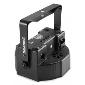 Achterkant - BeamZ BS271F - Flatpar 271 LED SMD 3 in 1 DMX Frost Lens