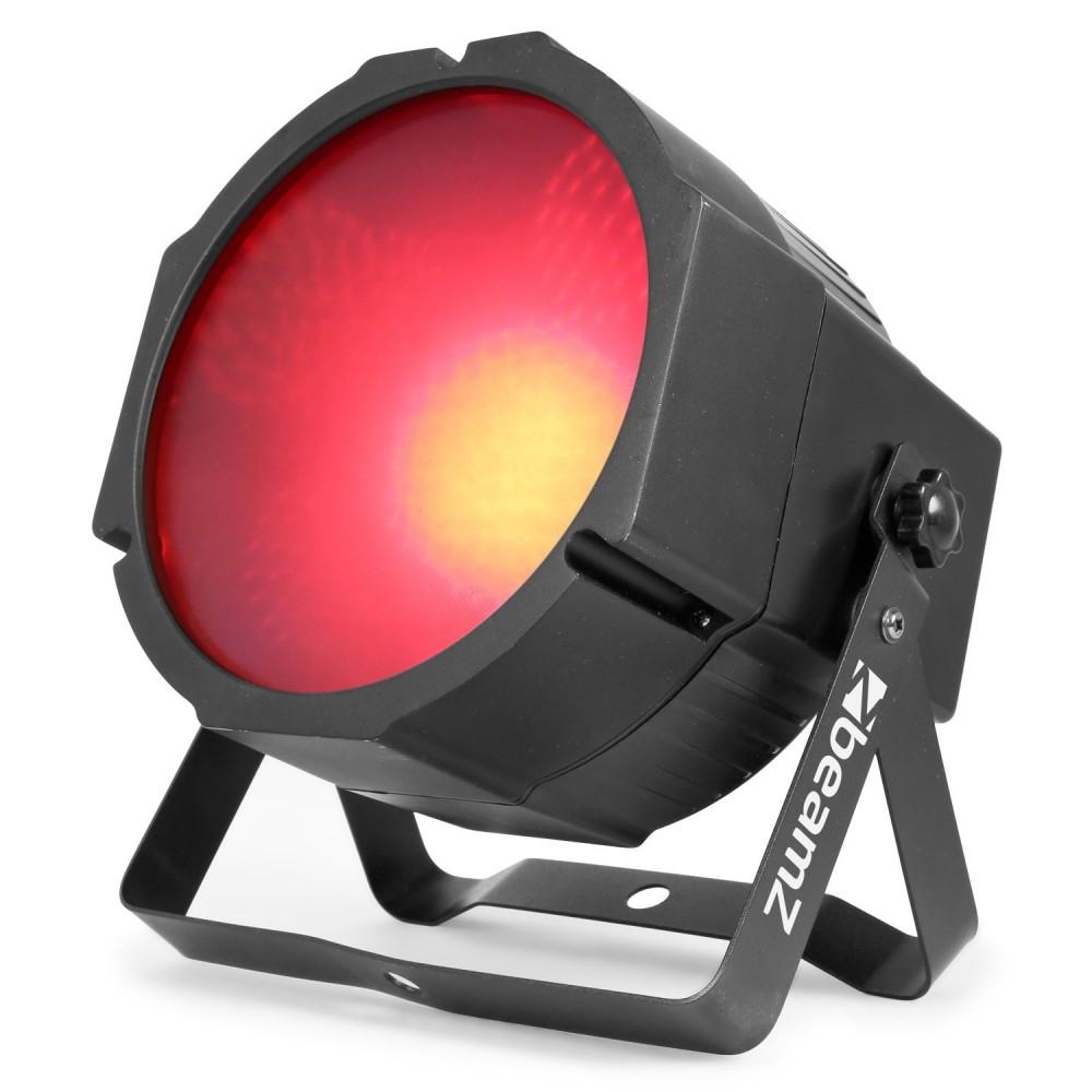 Rood - BeamZ BS271F - Flatpar 271 LED SMD 3 in 1 DMX Frost Lens