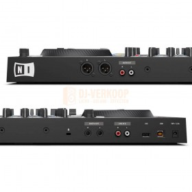 aansluitingen achterkant native instruments Traktor Kontrol S3 - 4 Kanalen DJ controller