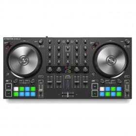 bovenkant native instruments Traktor Kontrol S3 - 4 Kanalen DJ controller
