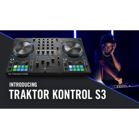 introductie native instruments Traktor Kontrol S3 - 4 Kanalen DJ controller