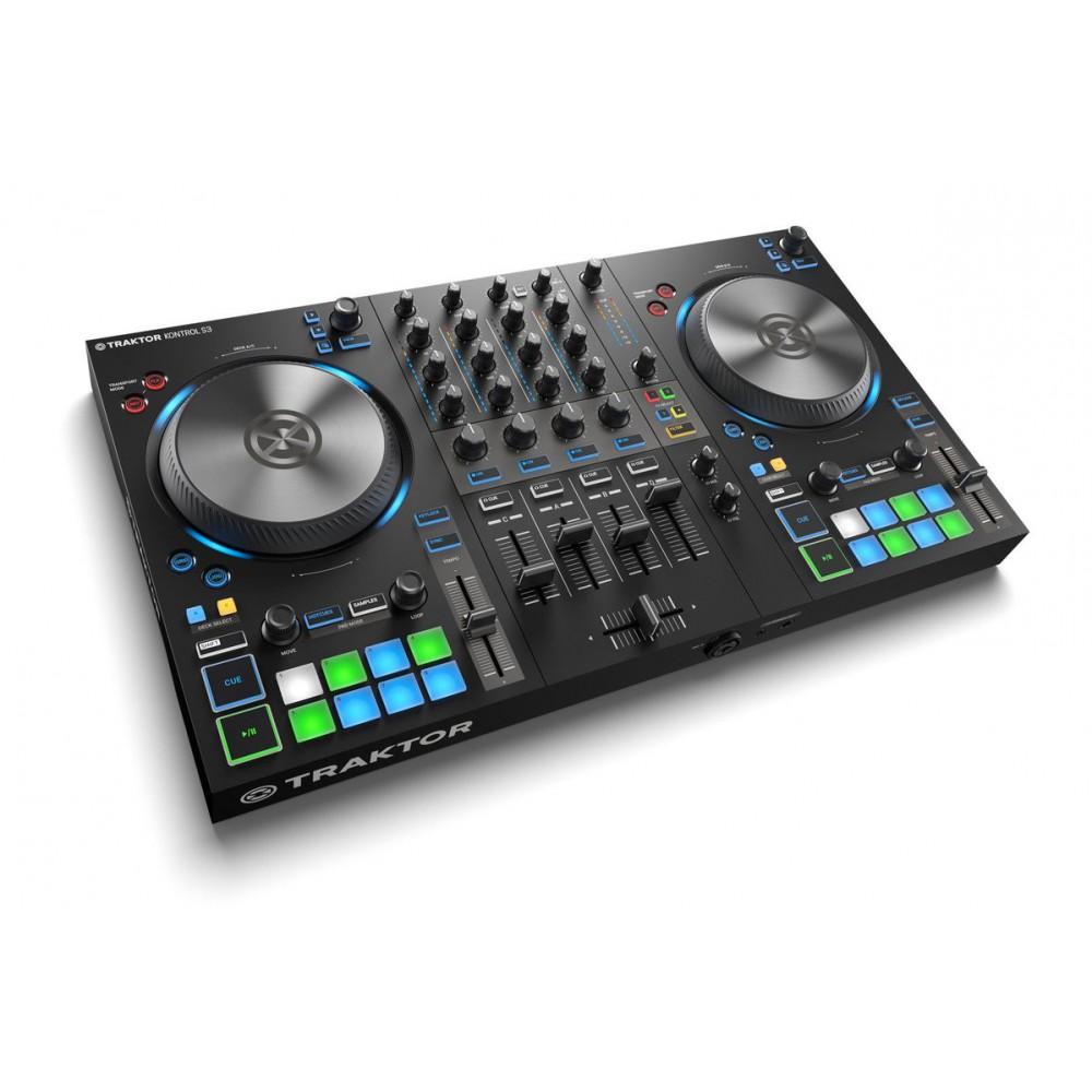 zij native instruments Traktor Kontrol S3 - 4 Kanalen DJ controller