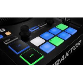 performer pads native instruments Traktor Kontrol S3 - 4 Kanalen DJ controller