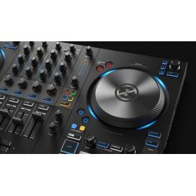 mixer en deck native instruments Traktor Kontrol S3 - 4 Kanalen DJ controller