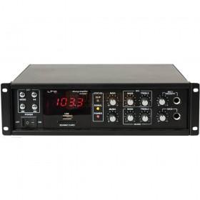 Versterker LTC PAA80BT - 80W PUBLIC ADDRESS VERSTERKER MET BLUETOOTH, USB-MP3 & FM TUNER