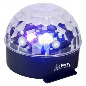 Party Light & sound  PARTY-ASTRO6 - 6-Kleuring astro LED licht effect