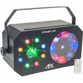 AFX Light DYNAMIC-LZR - 3-IN-1 LED licht effect: GOBO - Wash/Strobe - laser