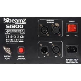 BeamZ S1800 Rookmachine DMX Horizontaal/Verticaal aansluitingen