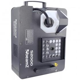 voorbeeld op ze zij - BeamZ S2000 - Co2 effect Rookmachine DMX 24x 3W LED