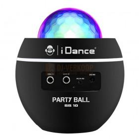 Achterkant aansluitingen iDance BB10-Black - Audio Speakers met disco lamp en Bluetooth