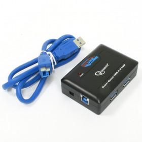 Gembird UHB-C344 - 4 poorts USB 3.0 hub met usb 3 kabel