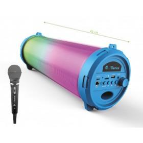 Cyclone met Microfoon - iDance Speakers Cyclone 401 Blue - Bluetooth Speaker