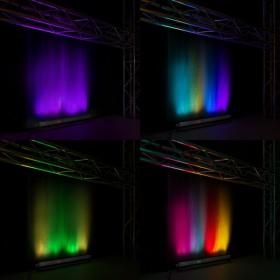 BeamZ BBB243 - Battery Powered LED BAR 24x 3W RGB