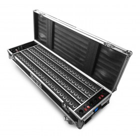 Beamz FCC14 - Flightcase met 4x BBB243