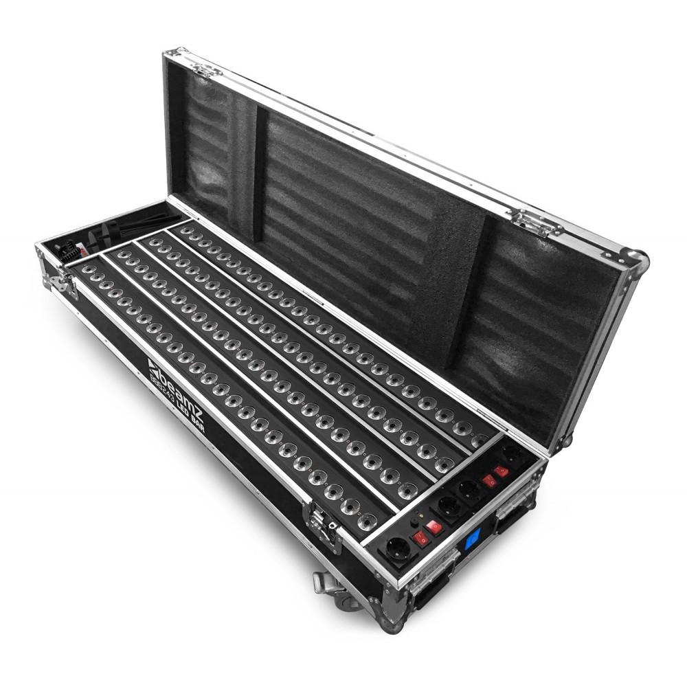 Beamz FCC14 - Flightcase met 4x BBB243