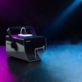 Output van de Cameo - Phantom H2 DMX Rookmachine 600 W verwarmingsvermogen en intern verlichte vloeistoftank