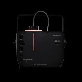 Achterkant rood van de Cameo - Phantom H2 DMX Rookmachine 600 W verwarmingsvermogen en intern verlichte vloeistoftank