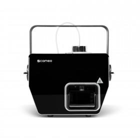Voorkant van de Cameo - Phantom H2 DMX Rookmachine 600 W verwarmingsvermogen en intern verlichte vloeistoftank