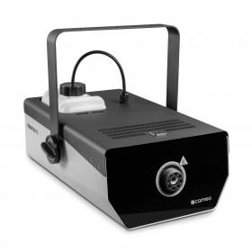schuin voor aanzicht van de Cameo - PHANTOM F51500 W DMX rookmachine met hoog vermogen en tweekleurige tankverlichting