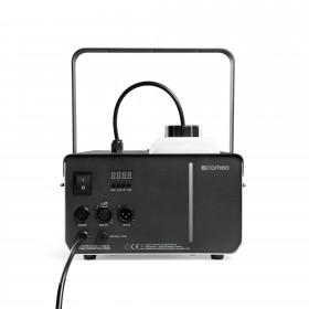 Achterkant van de Cameo - PHANTOM F51500 W DMX rookmachine met hoog vermogen en tweekleurige tankverlichting
