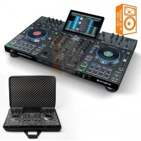 Denon DJ Prime 4 + Magma CTRL CASE - Pro 4 deck USB standalone DJ systeem