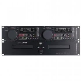 AUDIOPHONY MPu320 - Dubbele CD/USB/MP3 speler