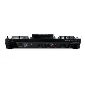 Achterkant Denon DJ Prime 2 - Tweedeks Smart DJ-console met 7-inch touchscreen
