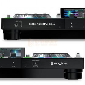 voorkant aansluitingen Denon DJ Prime 2 - Tweedeks Smart DJ-console met 7-inch touchscreen