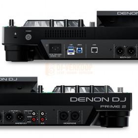 Achterkant aansluitingen Denon DJ Prime 2 - 2-deck Smart DJ-console met 7-inch touchscreen