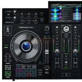 Linker Deck Denon DJ Prime 2 - Tweedeks Smart DJ-console met 7-inch touchscreen