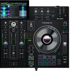 Rechter Deck Denon DJ Prime 2 - Tweedeks Smart DJ-console met 7-inch touchscreen