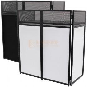 Equinox EQLED026 - Combi DJ Booth Systeem incl. zwart en wit doek